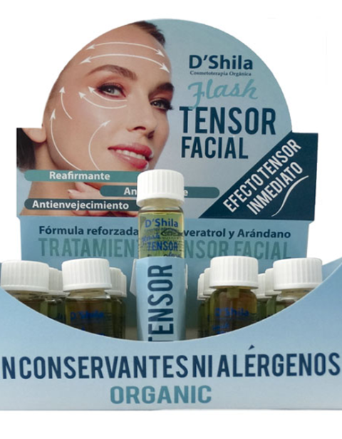 Flash tensor facial