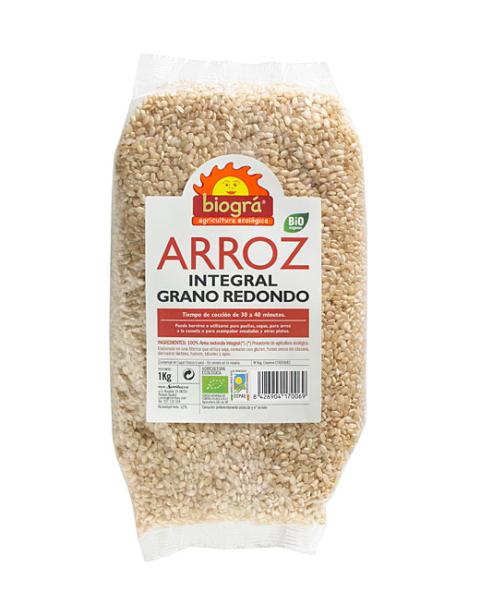 Arroz Integral Redondo 1 kg