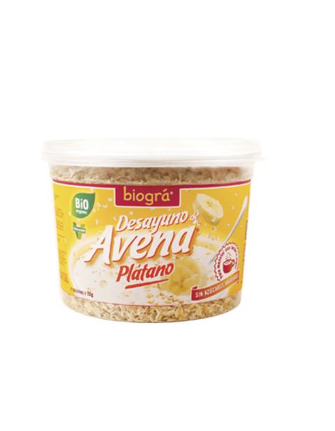 Bio-Porridge de Avena con Plátano