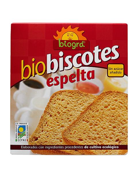 Biscotes de Espelta sin azúcar