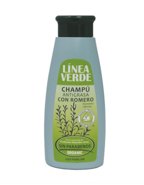 Champu Antigrasa Con Romero 400 ml