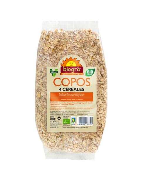 Copos 4 cereales 500g
