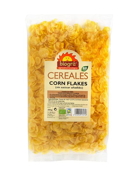 Corn Flakes sin azúcar y sin miel 250g
