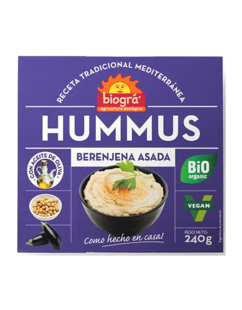 Hummus Berenjena Asada