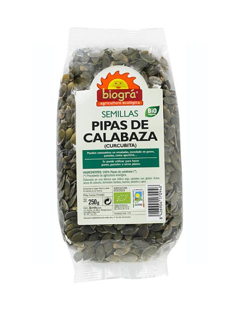 Pipas calabaza 250g (Curcubita)