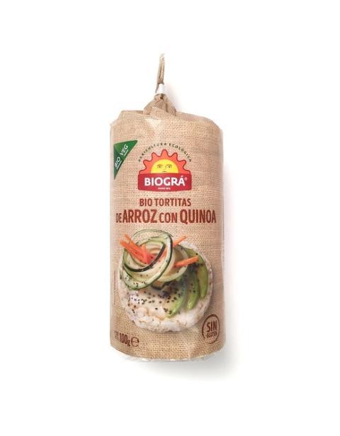Tortitas de Arroz con Quinoa